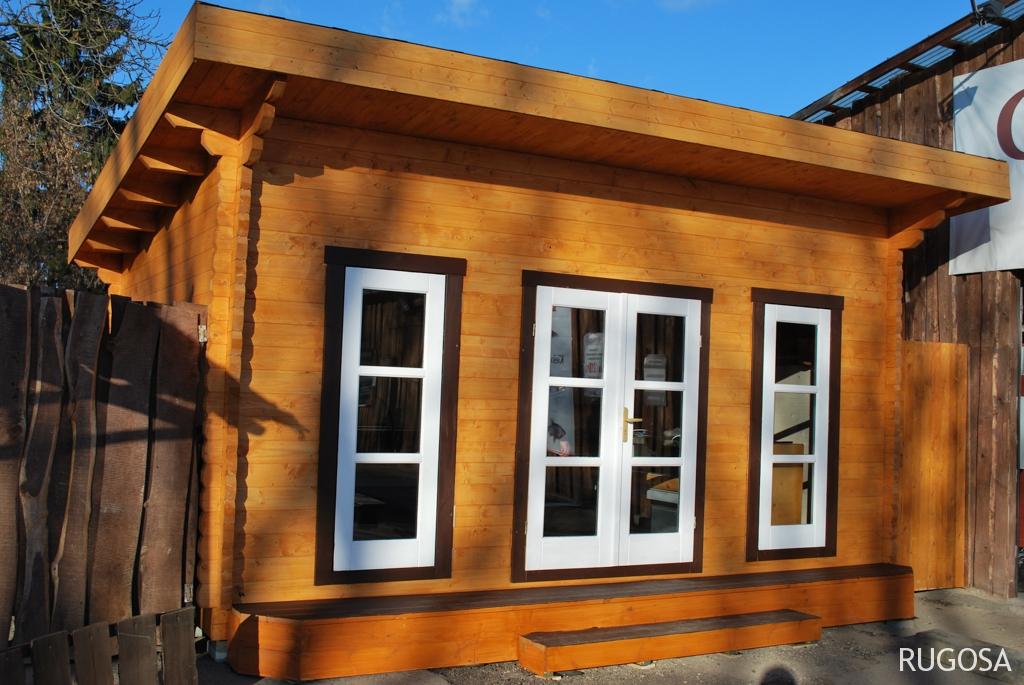 Sodo namelis /pavilionas 500x400 cm, vienšlaitis, sienos storis 60 mm