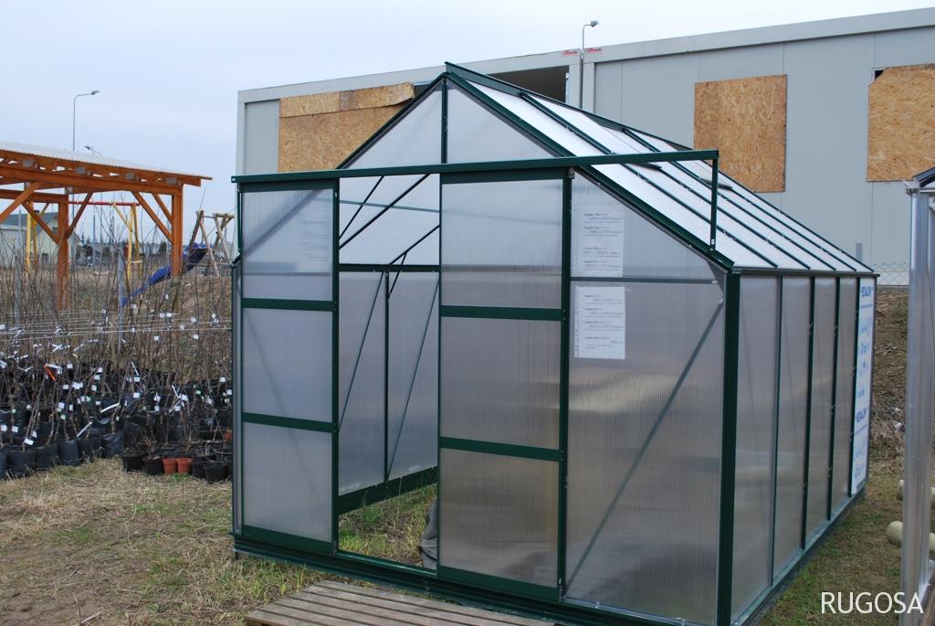 Šiltnamis Floria Sunlite Plius 9.7,  275x354x152 cm