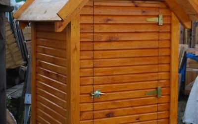 LT03 Lauko tualetas 112x120x250cm, dvišlaitis, siena 21mm. Kaina 639 Eur