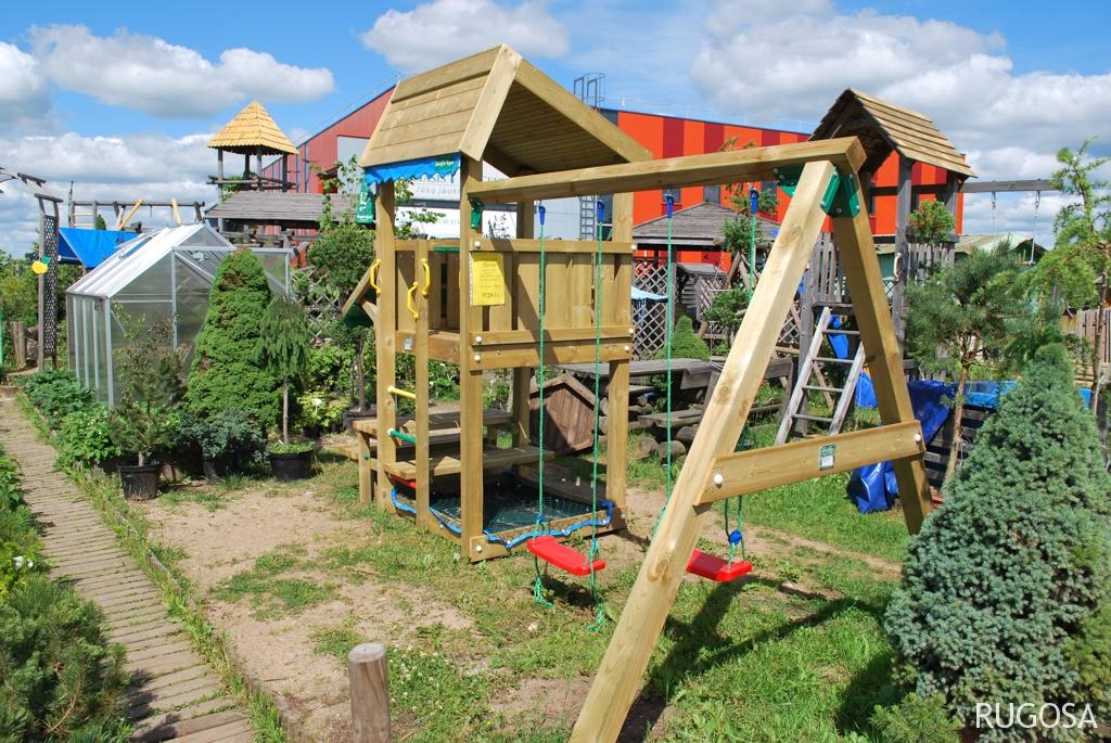 SU07 Vaikų žaidimų bokštas Namas. Kaina nuo 1077 Eur