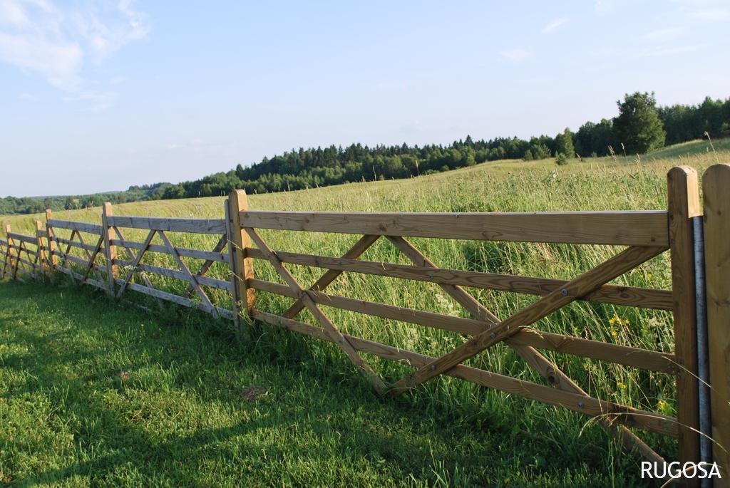 Laukų tvora, 120x300 cm