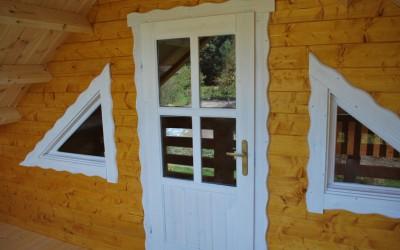 Vasarnamis 600 x 520 cm, dvišlaitis, dviejų aukštų, sienos storis – 60/90 mm