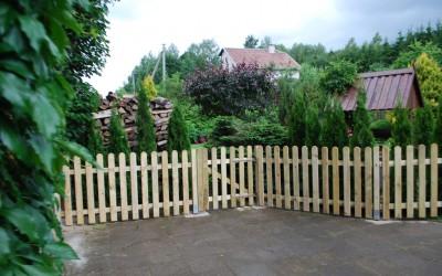 Statinių tvora 100x180 cm