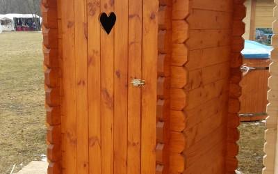 LT02 Lauko tualetas 110x150cm, siena44mm, dažyto pavyzdys