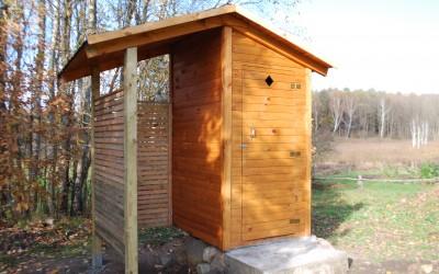 LT05 Lauko tualetas su malkine 180x120cm. Kaina nuo 750 Eur