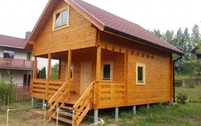 Vasarnamis be balkono 600x520cm, dviejų aukštų