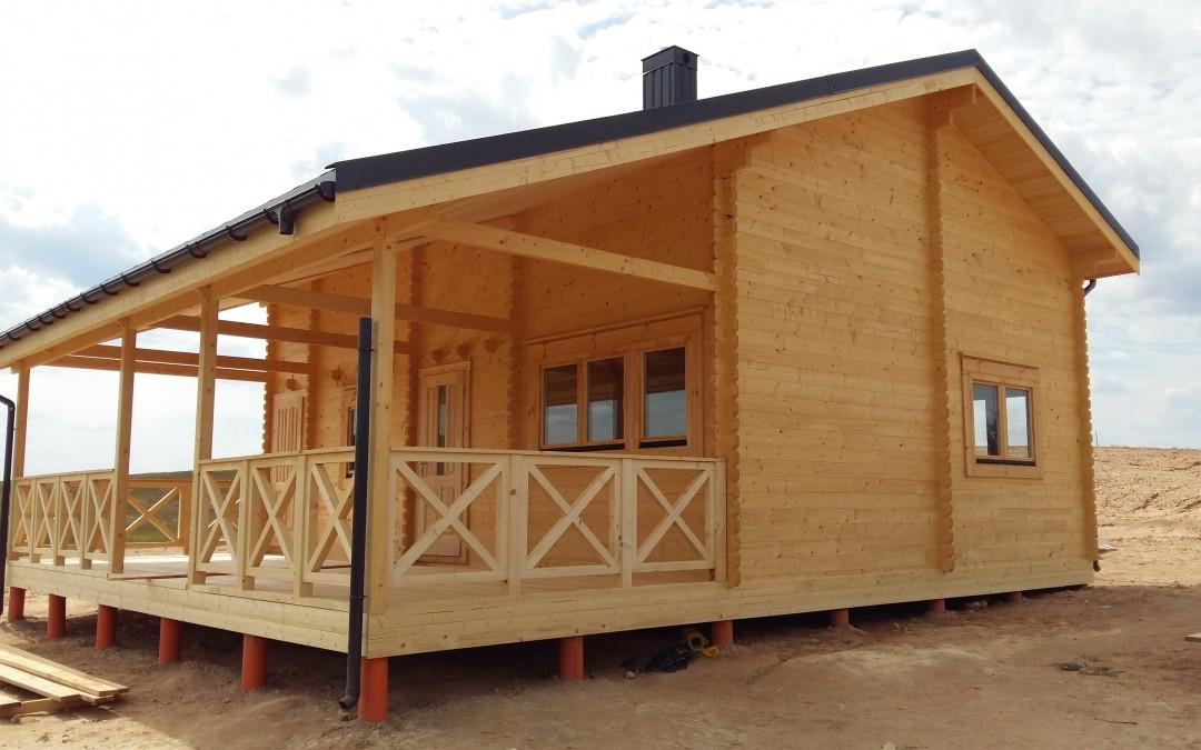 Vasarnamis Galstas, 600x825 cm, terasa 300x825 cm, dviejų aukštų, 6 kambariai.